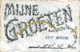 MEIR - Hoogstraten :  Mijnen Groeten  ( Geschreven 1907 Met Zegel ) - Hoogstraten