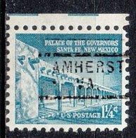 USA Precancel Vorausentwertung Preo, Locals Virginia, Amherst 729 - Vorausentwertungen