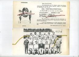 F.C. ASSENT  1979 :  Voetbal Festival  (  LUBANSKI )  21.5 X 10 Cm - Announcements