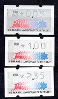 1990 3 X  MNH  (zk-330e) - Frankeervignetten (Frama)