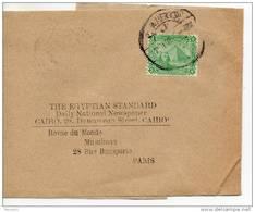 Egypte. Bande Journal  The Egyptian Standard/ Revue Du Monde Musulman - 1915-1921 Protectorat Britannique