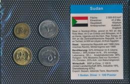 Sudan Stgl./unzirkuliert Kursmünzen Stgl./unzirkuliert 1994-2002 5 Dinar Jusqu'à Ce Que 50 Dinara (9030224 (9030224 - Soudan