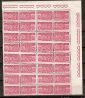 (Fb).Repubblica.150 Lire**.Blocco Angolo Di Foglio Di 16,gomma Integra.MNH (72-15) - 6. 1946-.. Republic
