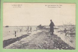 Les Inondations De L'Yser, Guerre 1914 - 1915. 2 Scans. Edition L C H - Guerre 1914-18