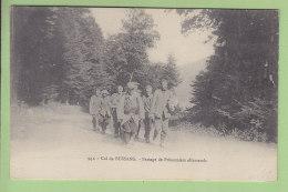 Passage De Prisonniers Allemands, Col De Bussang. 2 Scans. Edition Chadourne - Guerre 1914-18
