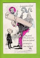 CPA ILLUSTRATEUR E. MULLER-THEME POLITIQUE - FRANC MACONNERIE-LA DERNIERE CORVEE - Illustrators & Photographers