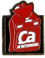 PRESSE - P32 - CA M'INTERESSE - Verso : SM - Medias