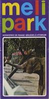 De Panne - Adinkerke - Brussel  :  MELI PARK  (  Oude Folder )  Zie Scans - Programmes