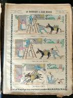 IMAGERIE PELLERIN D'EPINAL - LA BOURRIQUE À JEAN NICAISE (Illust. TROCK) - Série Aux Armes D'Epinal N°188 - - Old Paper