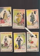 Chromo Fin XIXè - Lot De 13 - Petites Annonces Humoristiques De Recherche D'emploi - Magasin Phares De La Bastille Paris - Old Paper