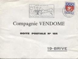 BRIVE - Ets CIE VENDOME - Enveloppe Commerciale - Otros