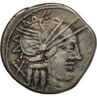 Monnaie, Papiria, Denier, Rome, TTB, Argent, Crawford:276/1 - Romaines
