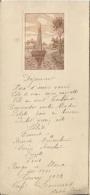 MENU ILLUSTRE - TOURY 1925 - Menus