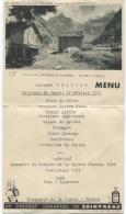 MENU ILLUSTRE - PUB COINTREAU - Brasserie La CIGALE NANTES - Illustration Envions De SAMOËNS - Menus