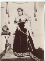 PHOTO - TANANARIVE - LA REINE RANAVALONA III - Photographe ? (format 15.5 X 11) - Places