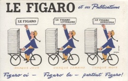 BUVARD - JOURNAL LE FIGARO - Illustration SAVIGNAC - Blotters