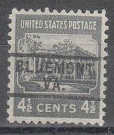 USA Precancel Vorausentwertung Preo, Locals Virginia, Bluemont 729 - Vorausentwertungen
