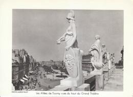 1958 - Héliogravure - Bordeaux (Gironde) - Les Allées De Tourny - FRANCO DE PORT - Vieux Papiers