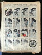 """IMAGERIE PELLERIN D'EPINAL - FANTAISIE SUR """"AU CLAIR DE LA LUNE"""" (Illust. H. HENNAULT) - Série Aux Armes D'Epinal N°177 - Old Paper"""