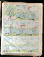 IMAGERIE PELLERIN D'EPINAL - PAUVRE PECHEUR (Illust. TEMP S TIMI) - Série Aux Armes D'Epinal N°95 - Old Paper