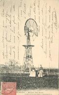 SACY LE GRAND - Moulin Des Eaux, éolienne. - Châteaux D'eau & éoliennes