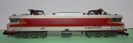 N - Locomotive CC 6536 Epoque IV -12084 + 4 Voitures Passagers 13123 + Fourgon Générateur - 13122  De TRIX - Locomotives