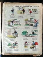 IMAGERIE PELLERIN D'EPINAL - PIERRE LE MYSTIFICATEUR - (Illust. JULES HENAULT) - Imagerie D'Epinal N°356 - Old Paper
