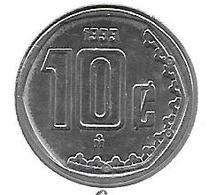 *mexico 10 Centavos  1999 Km547 Bu - Mexique