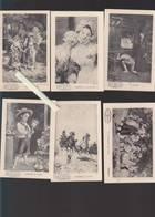 Chromo Fin XIXè - Lot De 12 - Chicoree A La Boulangere - émile Bonzel - Tableaux Peintures - Versos Vierges - Unclassified