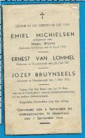 Bp    Neergeschoten    Herentals    Michielsen   Van Lommel   Bruynseels   Noorderwijk   Beerse - Images Religieuses