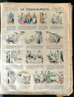 IMAGERIE PELLERIN D'EPINAL - LE CASQUE À MÈCHE (Illust. ?) - Série Aux Armes D'Epinal N°184 - Old Paper