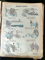 IMAGERIE PELLERIN D'EPINAL - FANTAISIE GLACIALE (Illust. DUES) - Série Aux Armes D'Epinal N°144 - Old Paper