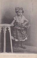 GUADELOUPE Historique CPA Collection PETIT N° 24  MARDI GRAS  ENFANT DEGUISEE Fillette En COSTUME CREOLE - Pointe A Pitre