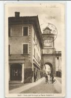 Italie Italia Italy - Trento - Salo Torre Dell'orologio E Piazza Umberto - Trento
