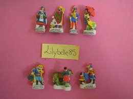 Série Complète De 7 Feves PERSO En Porcelaine IMAGERIE D' EPINAL II 2002 ( Feve Figurine Miniature ) - History