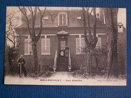 CPA  HALLENCOURT  //  Aux Acacias - 1916 - France