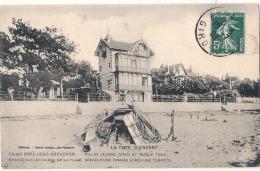 ***  33  *** ARCACHON LE MOULLEAU  Villa Jeanne D'Arc épaves Sur Les Bords De La Plage Pinasse  Excellent état RARE - Arcachon