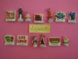 PRE Série Complète De 13 Feves En Porcelaine - FOX KIDS I 2003 ( Feve Figurine Miniature ) RARE - Cartoons