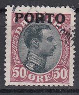 DENEMARKEN - Michel - 1921 - Nr 7 - Gest/Obl/Us - Port Dû (Taxe)