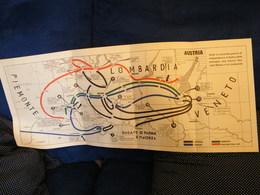 MONDOSORPRESA, (LB20) MAPPA CARTOGRAFICA SECONDA GUERRA DI INDIPENDENZA - Carte Topografiche