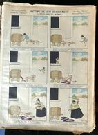 IMAGERIE PELLERIN D'EPINAL - VICTIME DE SON DÉVOUEMENT Ou: Justice De Hommes! Voire....des Femmes (Illust. B. RABIER) - - Old Paper