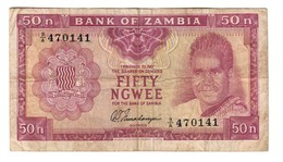 Zambia 50 Ngwee 1969 .J. - Zambia