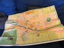 MONDOSORPRESA, (LB20) MAPPA CARTOGRAFICA FIRENZE - Carte Topografiche