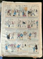 IMAGERIE PELLERIN D'EPINAL - LA RUE À PARIS (Illust. G.M.) - Série Aux Armes D'Epinal N°17 - - Old Paper