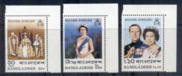 Bangladesh 1977 QEII Silver Jubilee MUH - Bangladesh