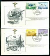 Bangladesh 1978 History Of Aviation, FAI 2xFDC Lot79559 - Bangladesh