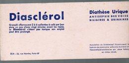 Paris Rue Norvins  Buvard DIASCLEROL (pharmacie)  (PPP9230) - Chemist's