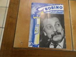 Georges Brassens A Bobino En 1957,programme Détaillé - Programs
