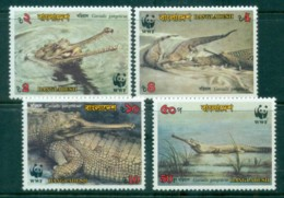 Bangladesh 1990 WWF Gharial MUH Lot76140 - Bangladesh