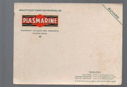 Buvard PLASMARINE (pharmacie)  (PPP9231) - Chemist's